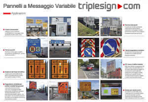 Pannelli stradali a messaggio variabile pmv